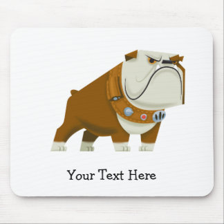 Charles Muntz bulldog - Disney Pixar UP Mouse Pad