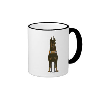 Charles Muntz dog - Disney Pixar UP Ringer Coffee Mug