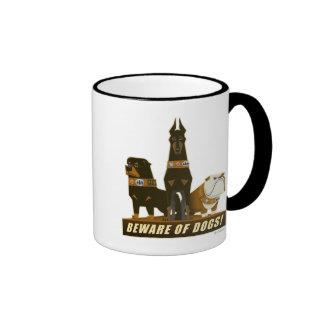 Charles Muntz' dogs from Disney Pixar UP Movie Ringer Coffee Mug