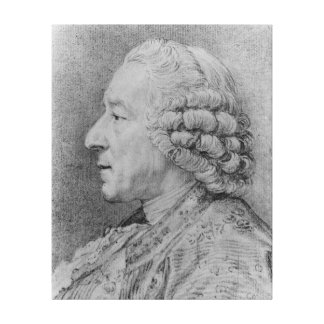 Charles-Nicolas Cochin, 1767 Canvas Print