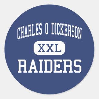 Charles O Dickerson - asaltantes entrenados para Pegatinas Redondas