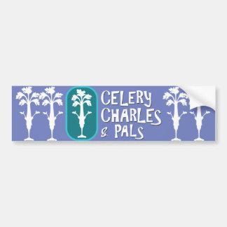 'Charles & Pals' DarLilac Bumper Sticker