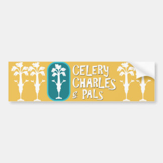 'Charles & Pals' Yellow Bumper Sticker