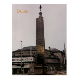 Charles Parnell Monument, O'Connell St., Dublin, I Postcard