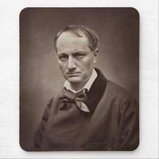Charles Pierre Baudelaire Portrait Étienne Carjat Mouse Pad
