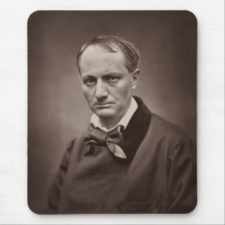 Charles Pierre Baudelaire Portrait Étienne Carjat Mouse Pads
