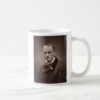 Charles Pierre Baudelaire Portrait Étienne Carjat Classic White Coffee Mug