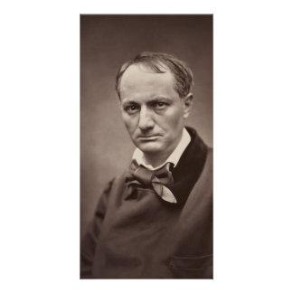 Charles Pierre Baudelaire Portrait Étienne Carjat Photo Card