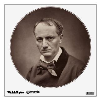 Charles Pierre Baudelaire Portrait Étienne Carjat Wall Decal