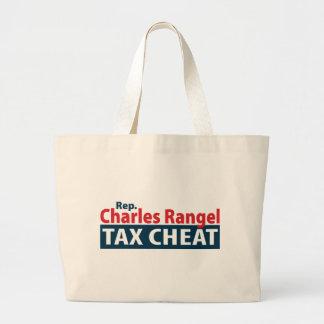 Charles Rangel Tax Cheat Tote Bag