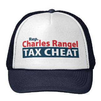 Charles Rangel Tax Cheat Trucker Hats