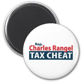 Charles Rangel Tax Cheat Refrigerator Magnet
