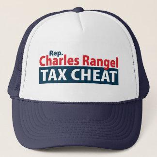 Charles Rangel Tax Cheat Trucker Hat