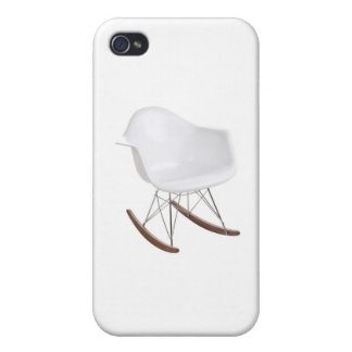 Charles & Ray Eames Shell Eiffel Rocking Chair Case For iPhone 4