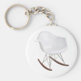 Charles & Ray Eames Shell Eiffel Rocking Chair Keychain
