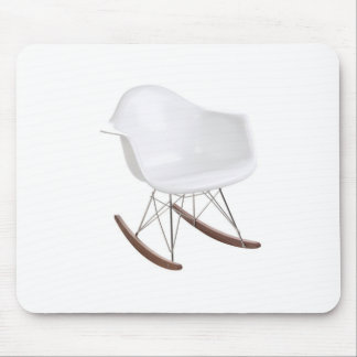 Charles & Ray Eames Shell Eiffel Rocking Chair Mouse Pad