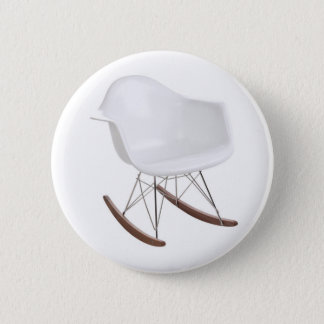 Charles & Ray Eames Shell Eiffel Rocking Chair Pinback Button