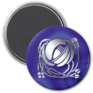 Charles Rennie Mackintosh Rose Magnet