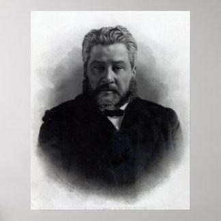 Charles reverendo Haddon Spurgeon Póster