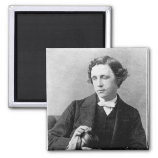 Charles reverendo L. Dodgson 1863 Imán Cuadrado