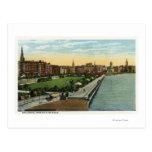 Charles River Basin and Esplanade View Post Cards