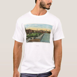 Charles River Basin and Esplanade View T-Shirt