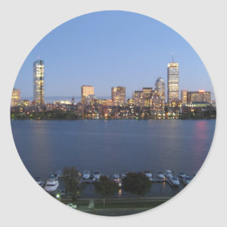 Charles River Classic Round Sticker