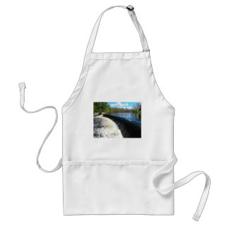 Charles River Falls in South Natick Massacchusetts Adult Apron