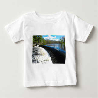 Charles River Falls in South Natick Massacchusetts Baby T-Shirt