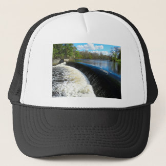Charles River Falls in South Natick Massacchusetts Trucker Hat