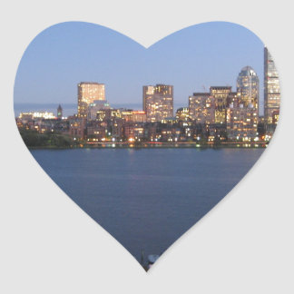 Charles River Heart Sticker