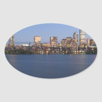 Charles River Oval Sticker