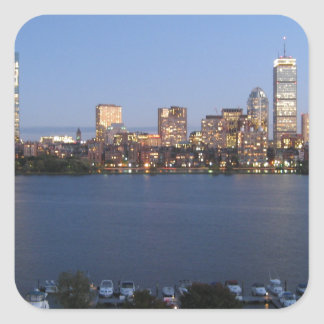 Charles River Square Sticker