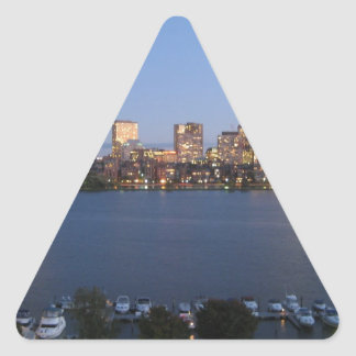 Charles River Triangle Sticker