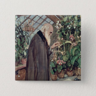 Charles Robert Darwin Button