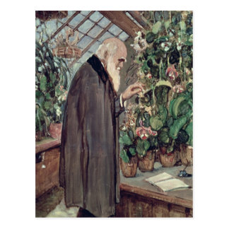 Charles Robert Darwin Postcard