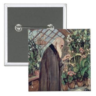 Charles Roberto Darwin Pin Cuadrado