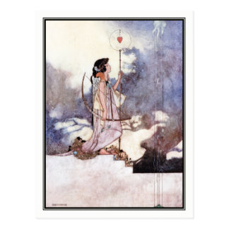Charles Robinson - In the Court of Love Postcard