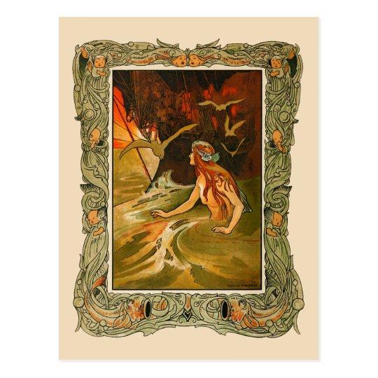 Charles Robinson - The Mermaid Postcard