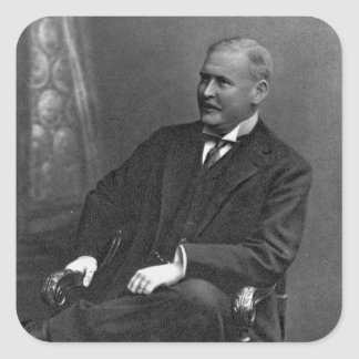Charles Rothschild Pegatina Cuadrada