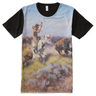 Charles Russell 1 All-Over Print T-shirt