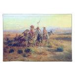 Charles Russell la bella arte de los exploradores Mantel Individual
