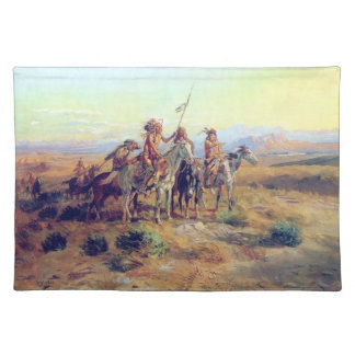Charles Russell The Scouts Fine Art Placemat