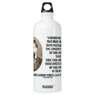 Charles Sanders Peirce Effects Objects Conception Aluminum Water Bottle
