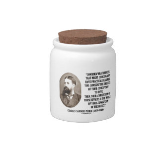 Charles Sanders Peirce Effects Objects Conception Candy Jar