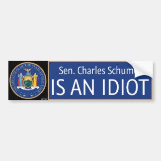 Charles Schumer Bumper Stickers