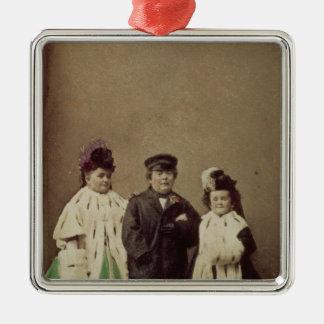 Charles Sherwood Stratton Metal Ornament