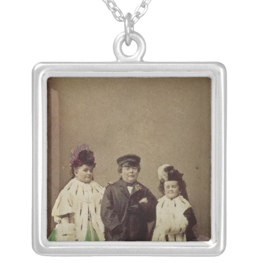 Charles Sherwood Stratton Silver Plated Necklace