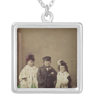 Charles Sherwood Stratton Square Pendant Necklace