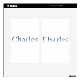 Charles Skins For Kindle Fire